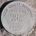 Image for T 14-15 S, R 16 E, Section Corner 31, 32, 5, 6, Oregon