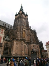 South Tower of the St. Vitus Cathedral