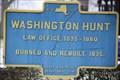Image for Washington Hunt - Lockport, New York