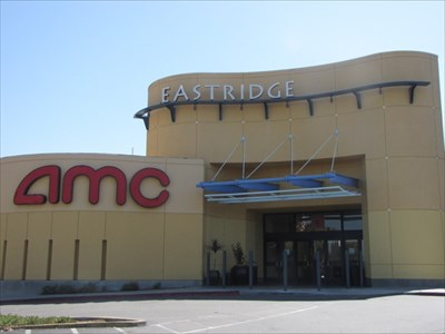 AMC 15 Outside, Eastridge Mall, San Jose, California