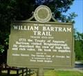 Image for William Bartram Trail Traced 1773-1777 -Wrightsboro, GA