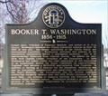 Image for Booker T. Washington 1856-1915 - GHM 060-176  – Fulton Co., GA