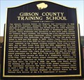 Image for Gibson County Training School - Milan, Gibson County, Tennessee