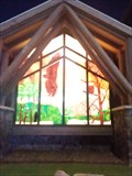 Image for Cherokee Casino Stained Glass Window - West Siloam Springs OK
