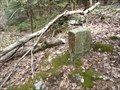 Image for Lebanon & Schuylkill County Boundary Marker - Stony Valley Rail Trail - Central Pennsylvania