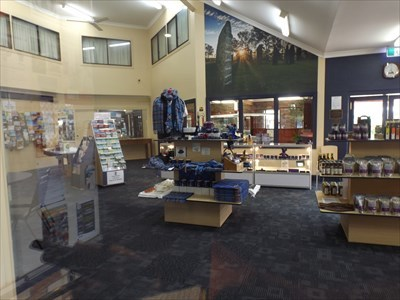 Inside the Information Centre. 1225, Sunday, 26 August, 2018