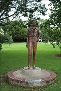 Image for Amelia Earhart -- International Forest of Friendship, Atchison KS