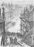 Image for Inondation - 18 janvier 1875 - Place d'Italie / Rue du Faubourg Montmélian - Chambéry, Savoie, France