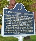 Image for La Porte County Courthouse Historical Marker - La Porte, IN