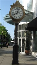 Image for Gallerie Plaza Clock - Washington, DC