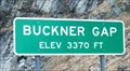 Image for Buckner Gap - 3370 ft