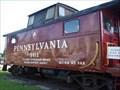 Image for Pennsylvania RR caboose 5012 - Coshocton, Ohio