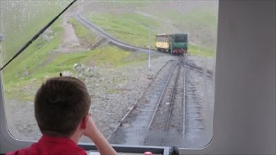 Snowdon Mountain Railway.