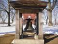 Image for FIRST, LARGEST, OLDEST - Mt Pulaski's School Bell  -   Mt. Pulaski, Illinois.