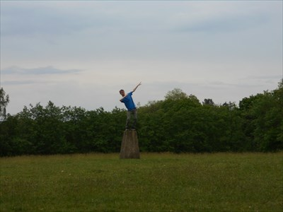 Me standing on top of the trigpoint