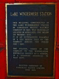 Image for Lake Windermere Station - 1978 - Invermere, BC