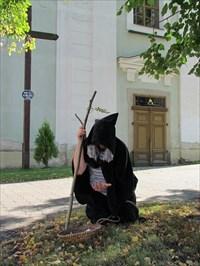 foto z legendárního žebráka v Žebráku