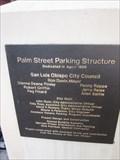 Image for Palm Street Parking Structure - 1988 - San Luis Obispo, CA