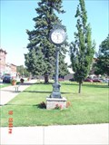 Image for Ceder County Court House Clock.