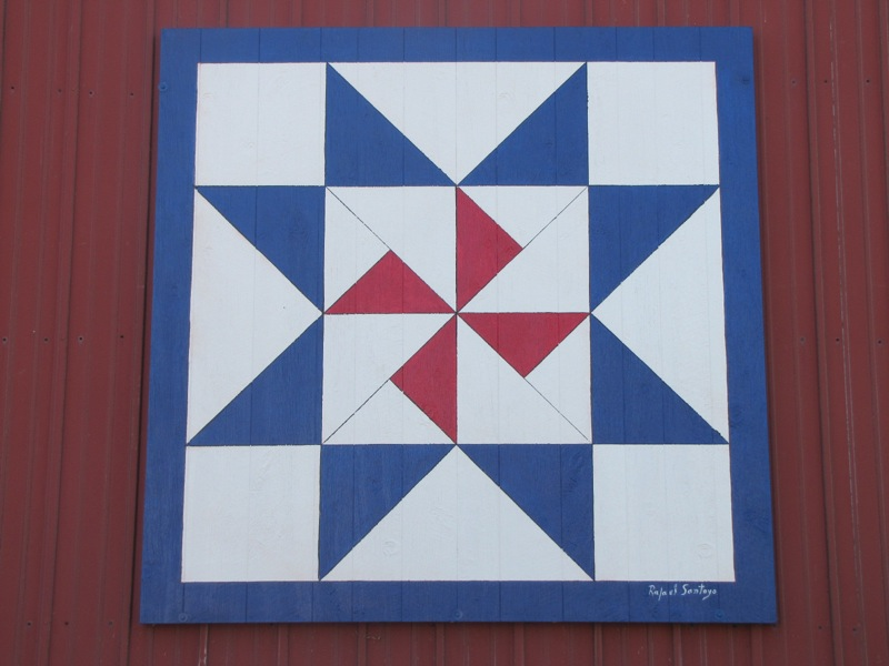 Fessler Barn - Laura, Ohio - Painted Barn Quilts on ...