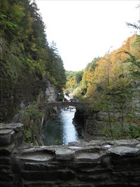 Bon Echo visited Stone Hiking Bridge - Letchworth State Park