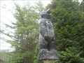 Image for Carved wooden bear - Weedville, PA