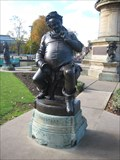 Image for Statue of Falstaff - a  Shakespearean Character.