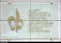 Image for Scout memorial tablet at Faculty of Electrical Engineering / Skautská pametní deska na Faulte elektrotechnické - CVUT (Prague)