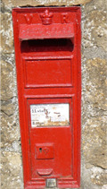 Image for Victorian Wall Box - Sea - Ilminster - Somerset - UK