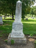 Image for Josiah Miller - Oak Hill Cemetery - Lawrence, Ks.