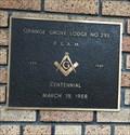 Image for Masonic Temple - 100 Years - Orange, CA