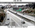 Image for I-90 at US 195 Webcam - Spokane, WA