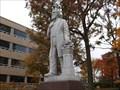 Image for John R Buchtel statue - University of Akron