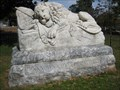 Image for Oakland Cemetery Confederate Lion - Atlanta