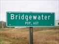 Image for Population Sign, Bridgewater, South Dakota
