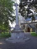 Image for Sidmouth War Memorial Cross, Devon UK