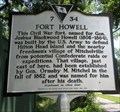 Image for Fort Howell - Historic Marker - Hilton Head Island, South Carolina.