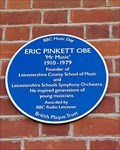 Image for Eric Pinkett OBE - Church Langton School - Church Langton, Leicestershire