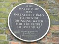 Image for Brown Plaque - Town Pump - Aylesbury