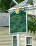 Image for Family Home of John Humphrey Noyes - Putney VT