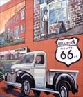 Image for Bethany 1920 to 1950 - Route 66 Mural - Bethany, Oklahoma, USA.