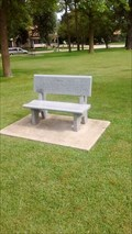 "Image for Anthony ""Alex"" Gaunky memorial bench - Sparta, WI, USA"