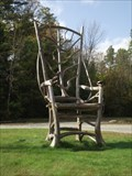 Image for Rustic Chair - Schroon Lake, New York
