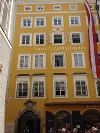 Mozart Gebursthaus - Salzburg