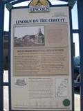 Image for Lincoln on the Circuit marker - Decatur, IL