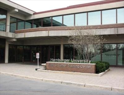 hamburger university oak brook il