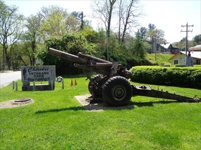 veritas vita visited Cherokee Park Howitzers