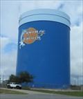 Image for Orange Beach Water Tower - Satellite Oddity - Gulf Shores, Alabama, USA.