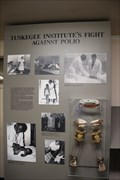 Image for Fight Against Polio -- George Washington Carver Museum, Tuskegee Institute NHS, Tuskegee AL