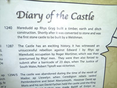 Diary of a Castle - 1240 to 1993